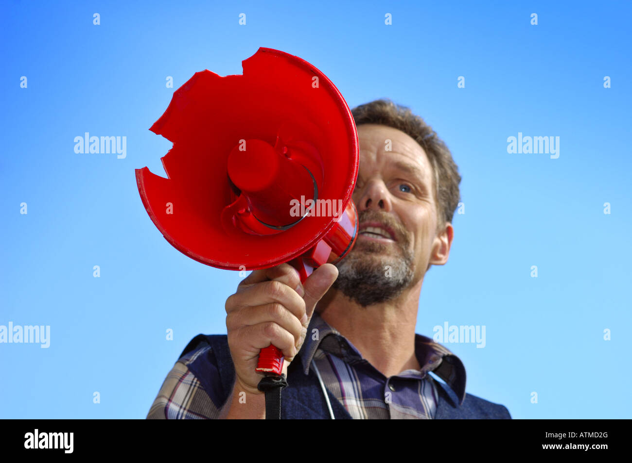 Now hear this - Stock Image