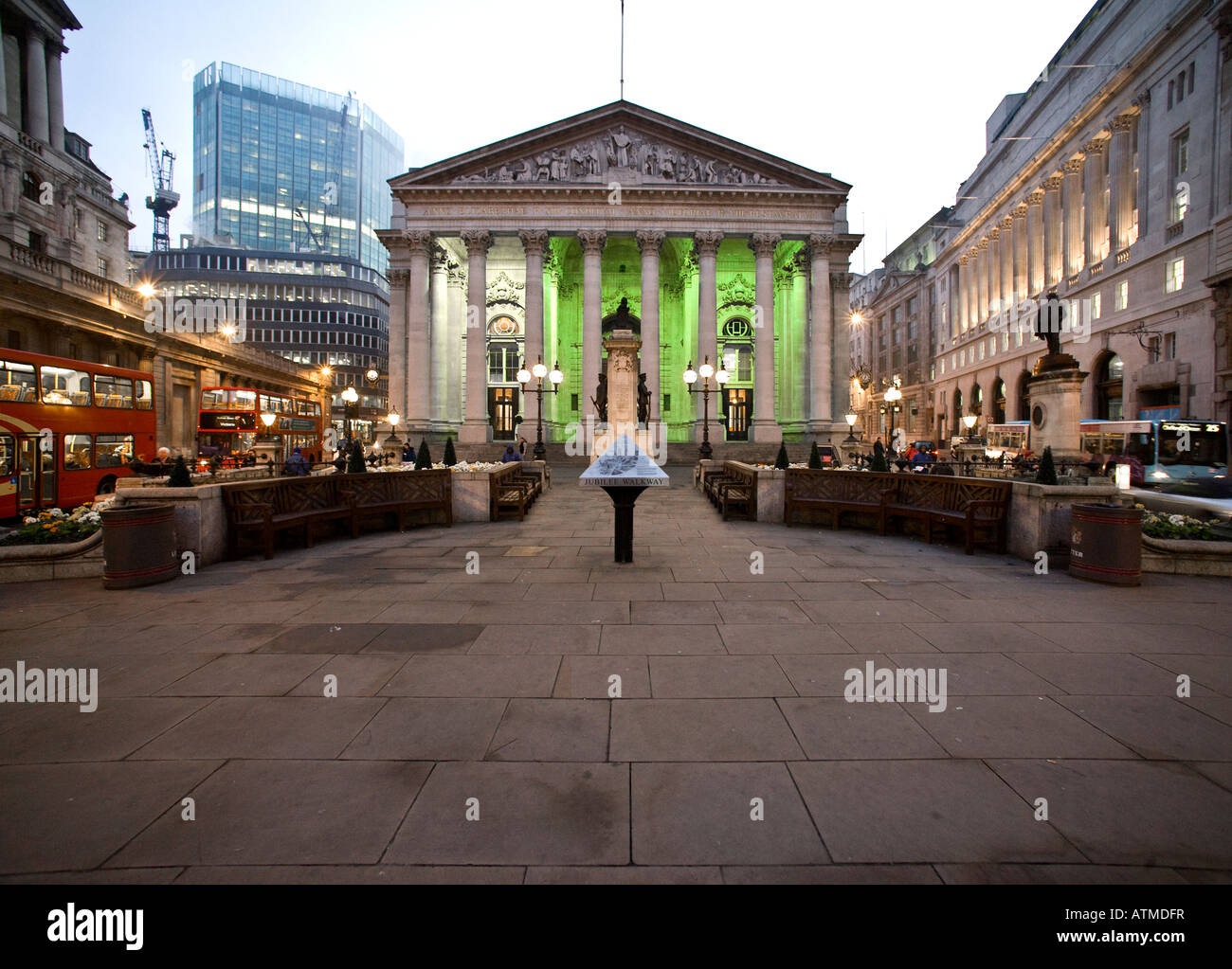 The Royal Exchange, City of London - Stock Image