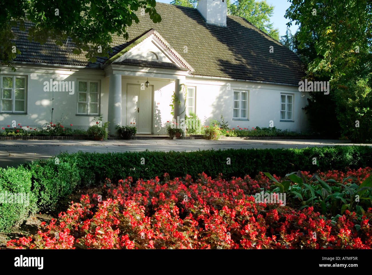 Museum of Frederic Chopin in Zelazowa Wola - Stock Image
