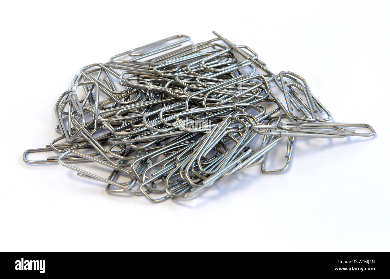 Paperclips - Stock Image