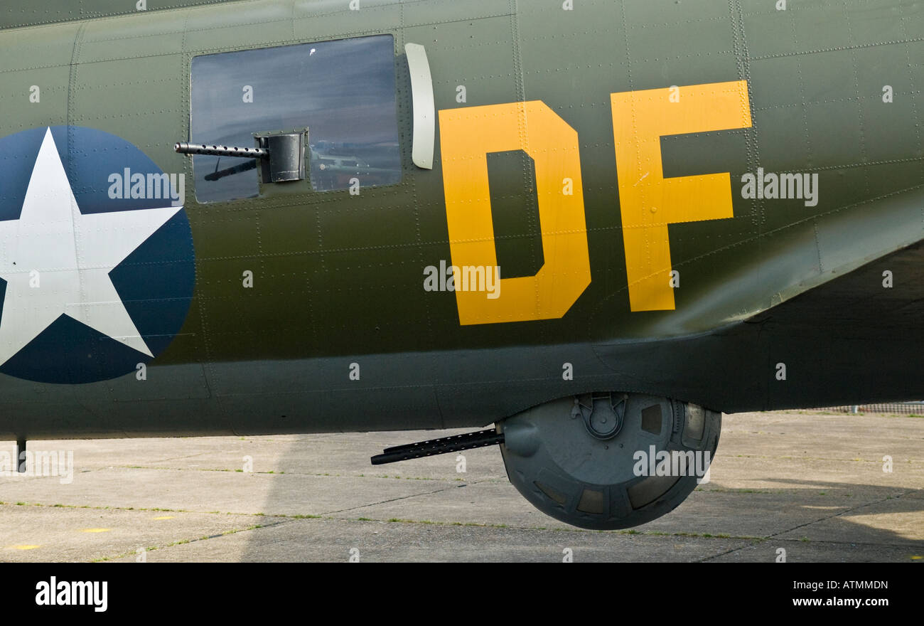 B-17 Flying Fortress Sally B Stock Photo