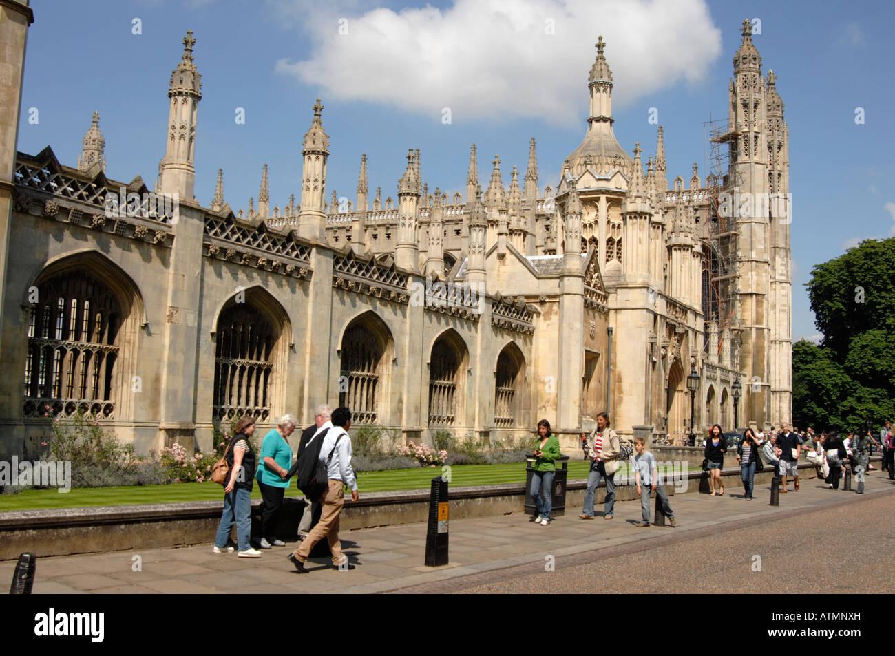 Kings College, Cambridge University - Stock Image