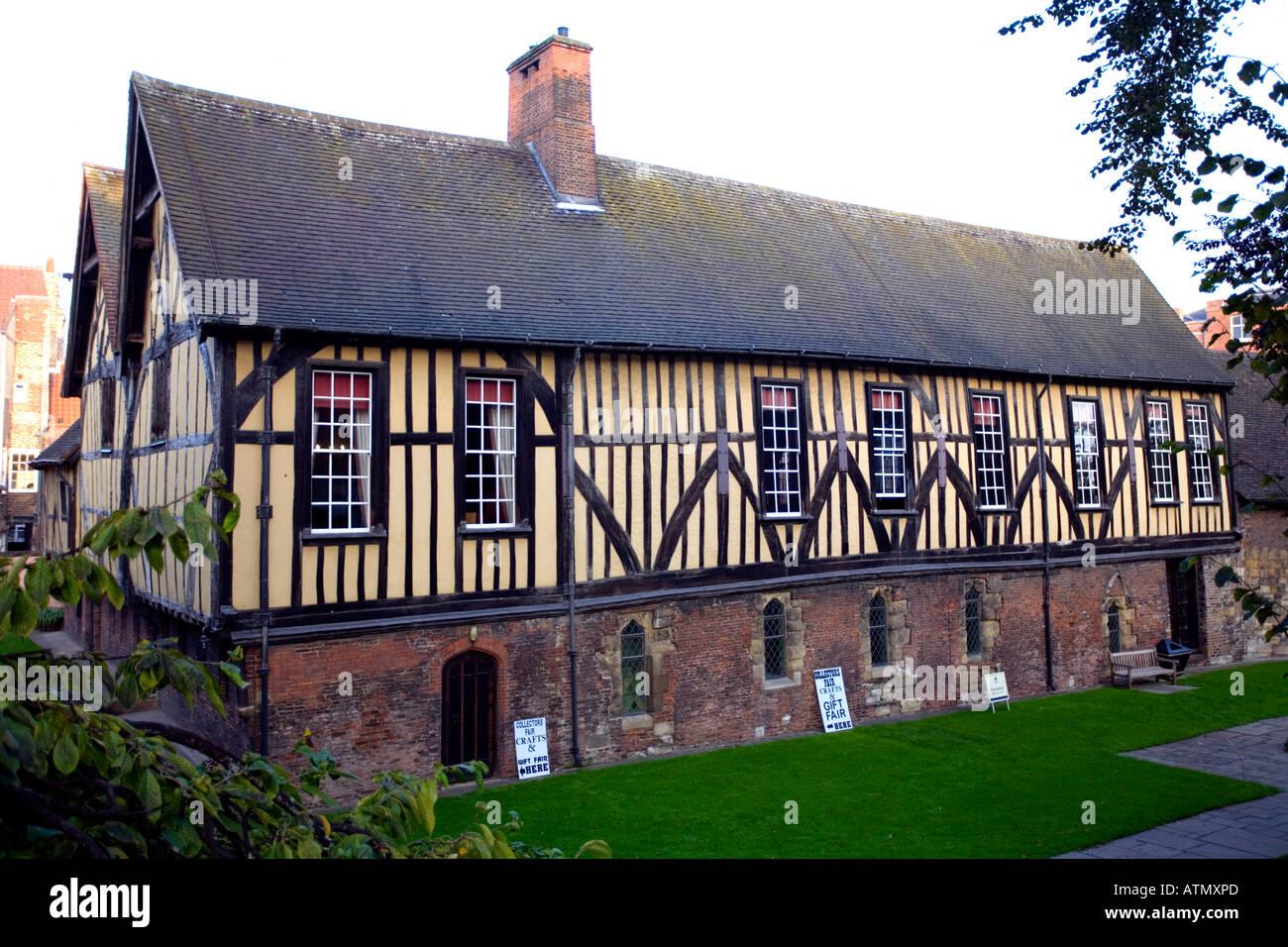 Merchant Adventurers' Hall Fossgate York England - Stock Image