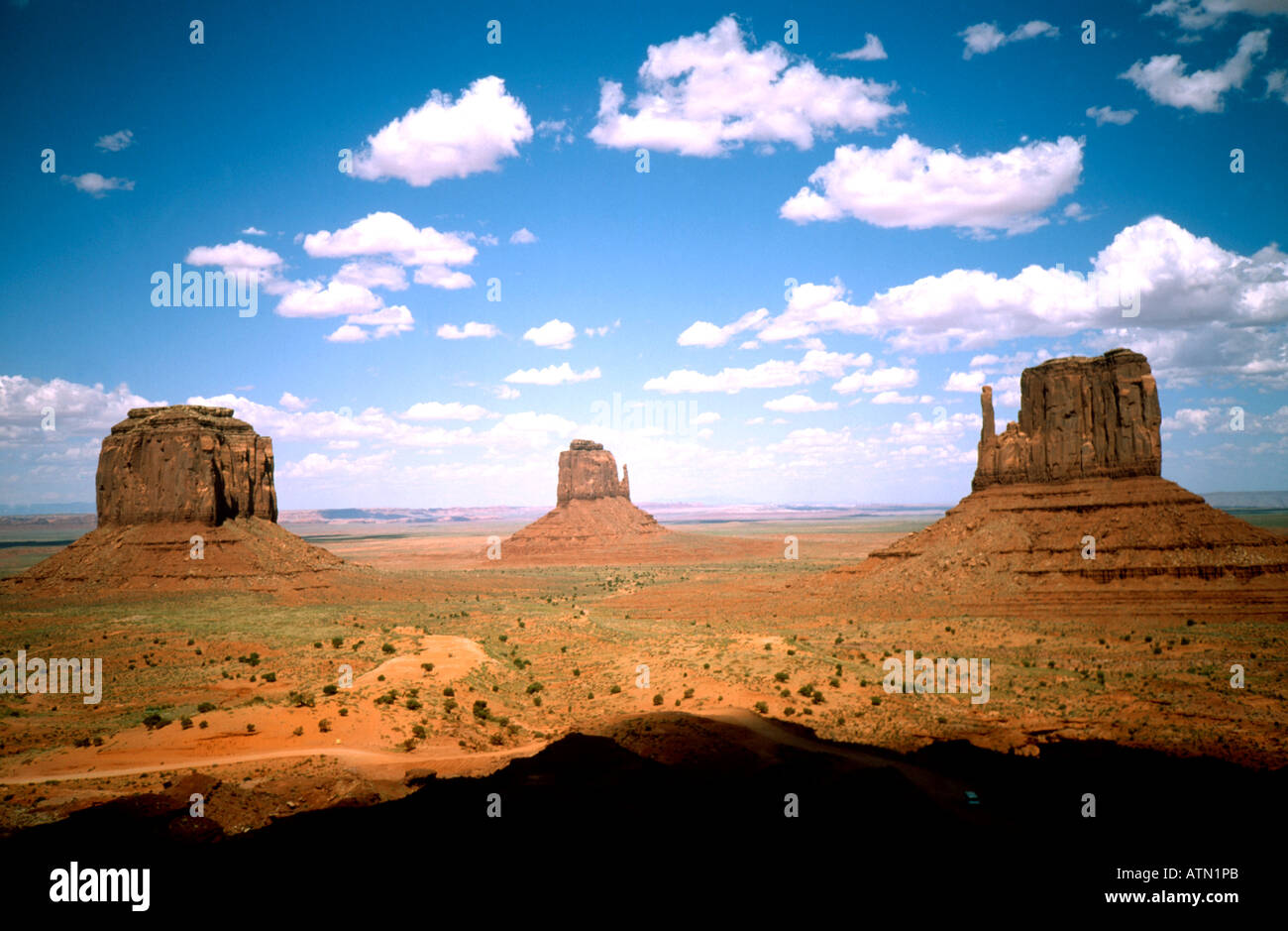 Monument Valley in USA - Stock Image