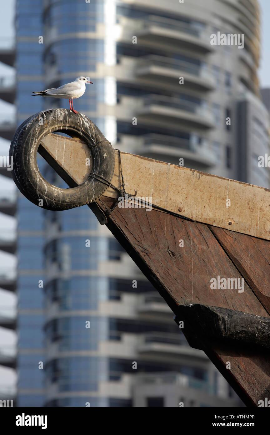 By the dockside- Dubai Creek 2 - Stock Image
