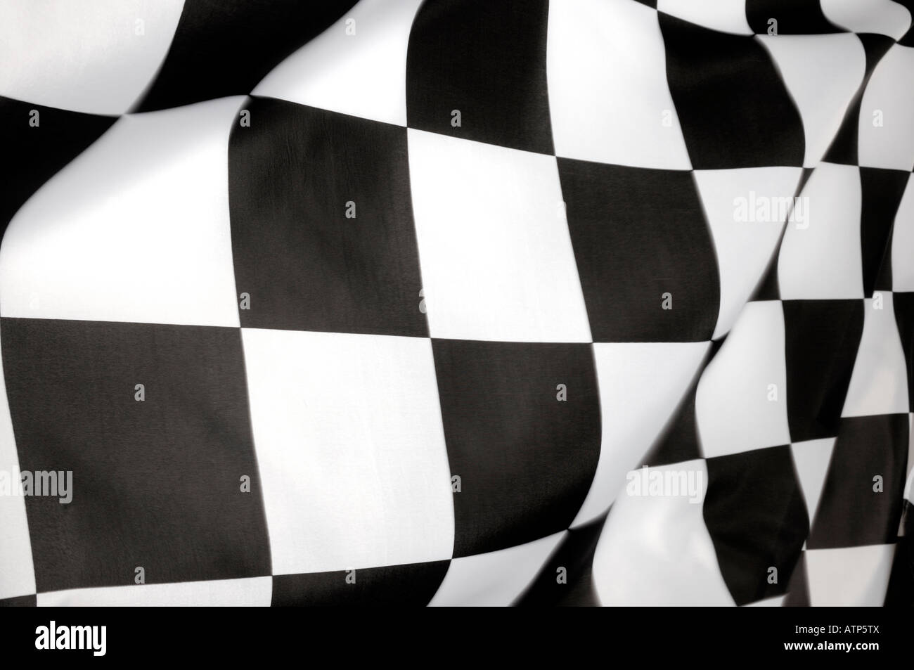 chequered flag - Stock Image