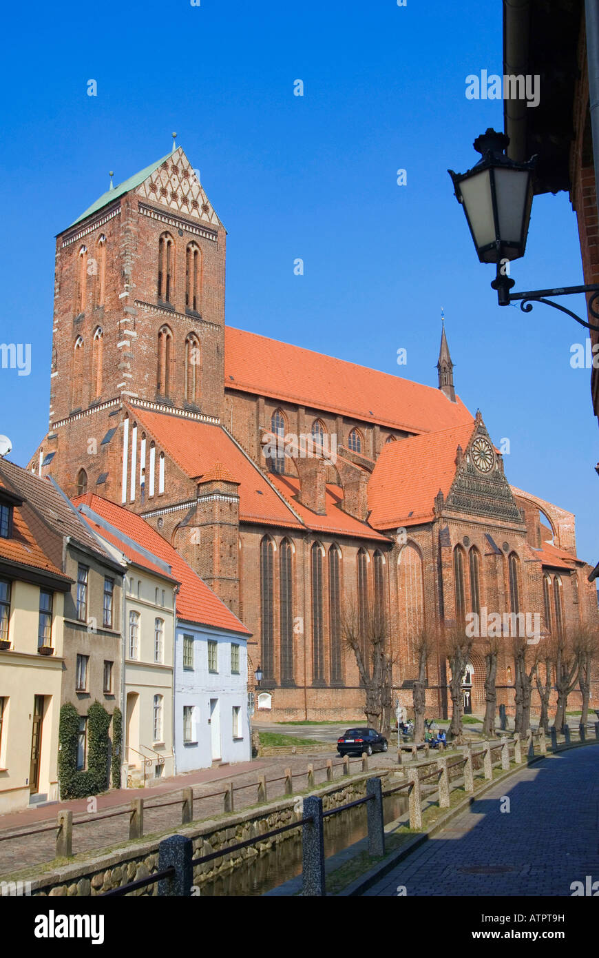 Church St Nikolai / Wismar - Stock Image