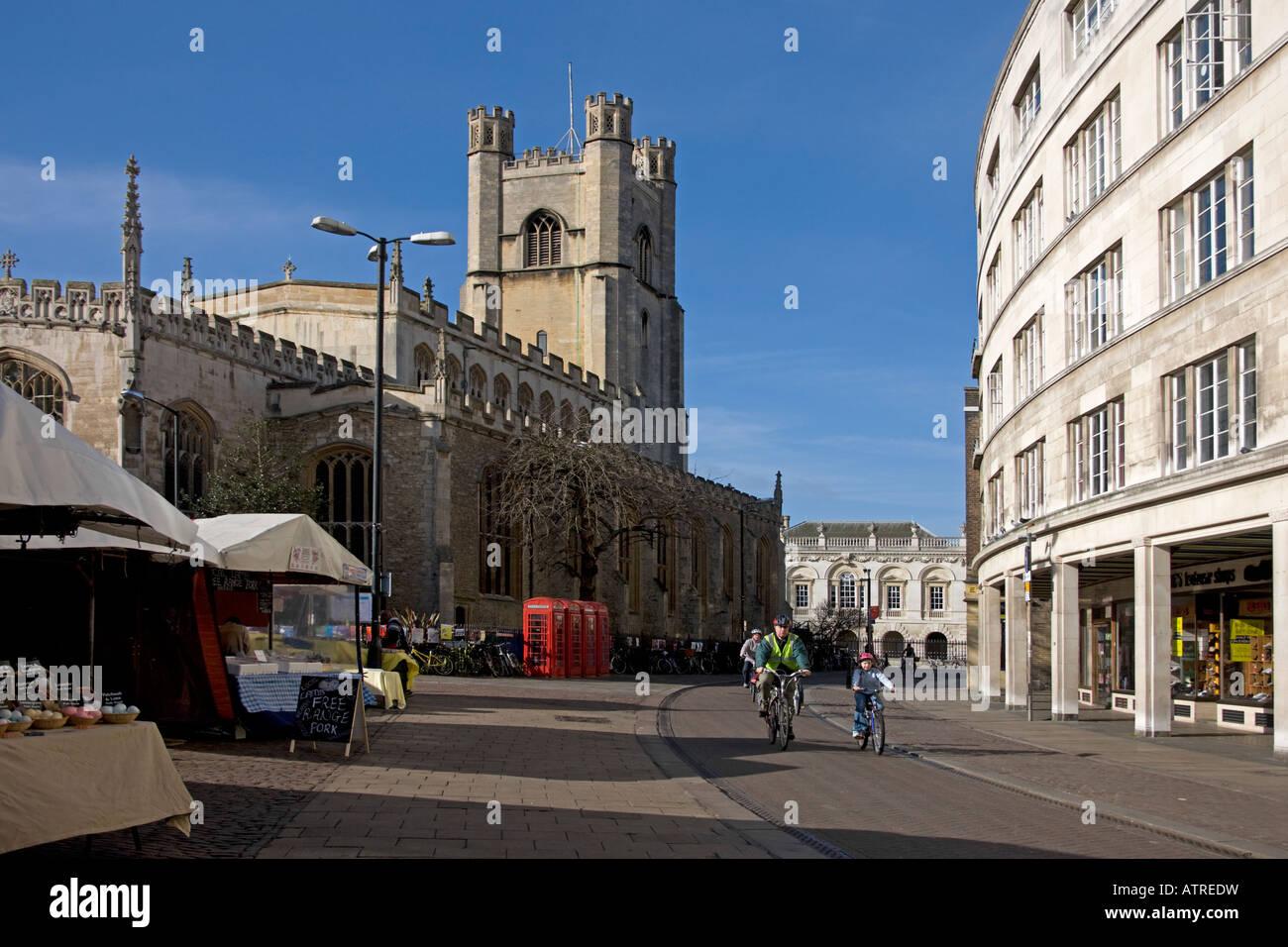 Great St Mary's church. Cambridge. Cambridgeshire. East Anglia. UK. - Stock Image