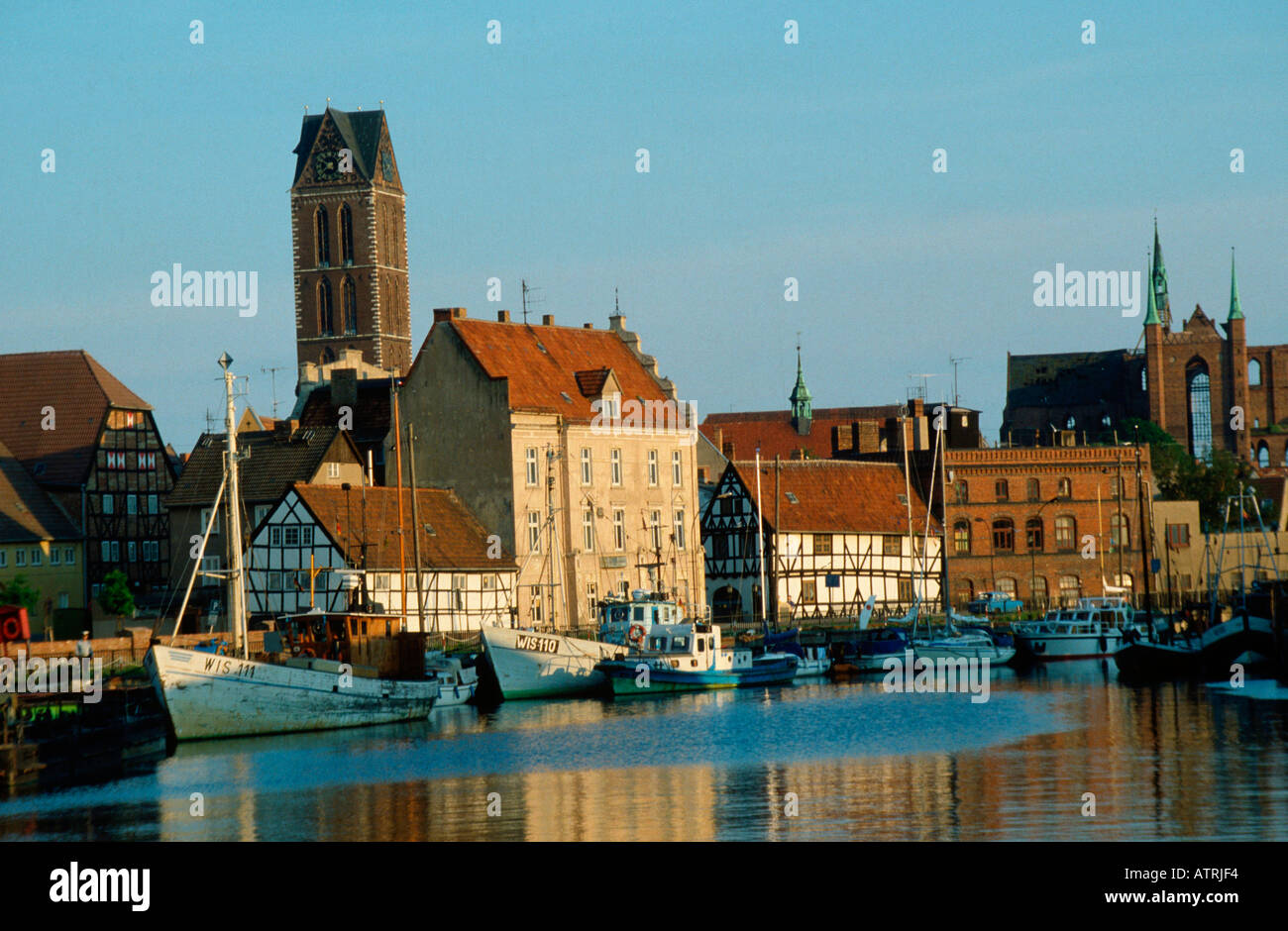 Harbour / Wismar - Stock Image