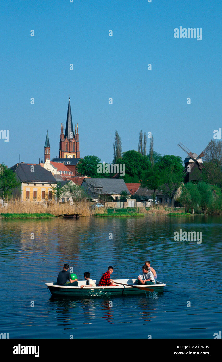 Rowing Boat Werder An Der Havel Stock Photo 5347284 Alamy