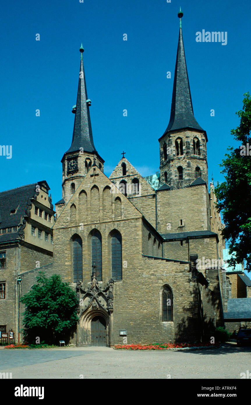 Cathedral / Merseburg - Stock Image