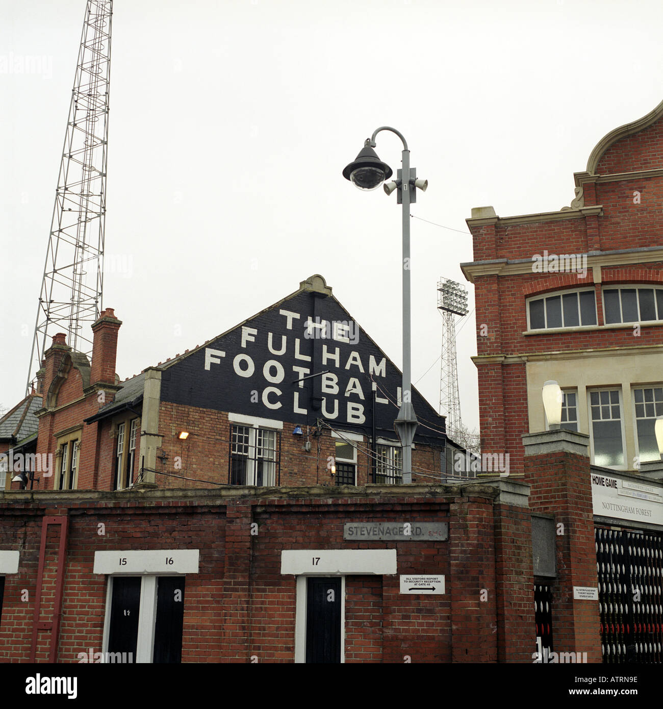 Craven Cottage, home of Fulham Football Club. - Stock Image