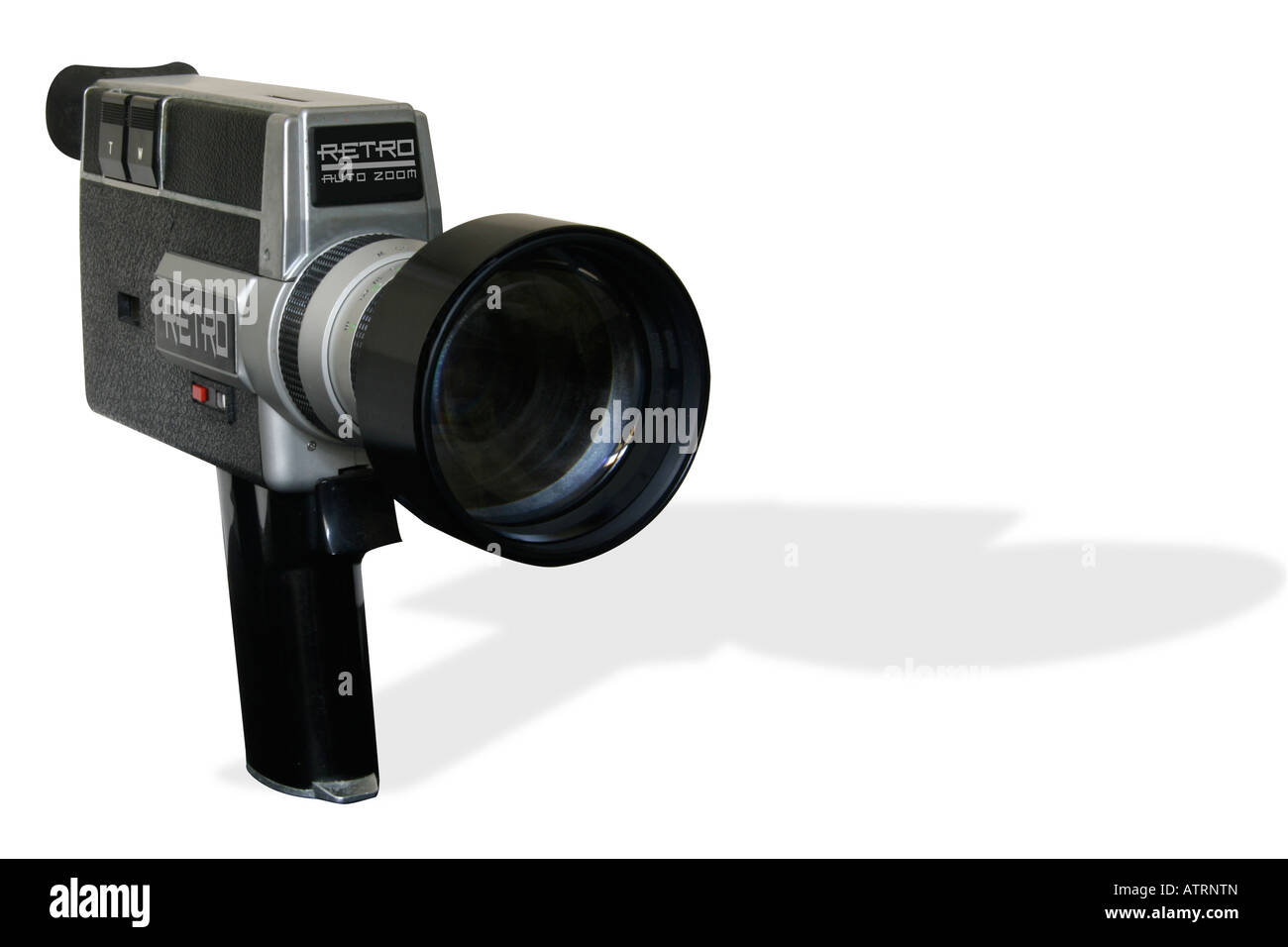 Retro Super 8 film Cine Camera Stock Photo: 16380404 - Alamy