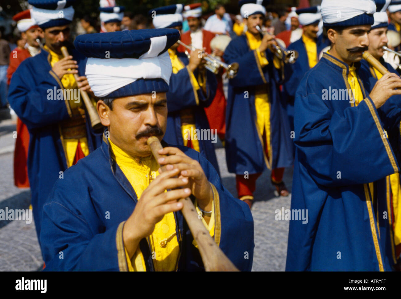 Istanbul Turkey Janissaries Band - Stock Image