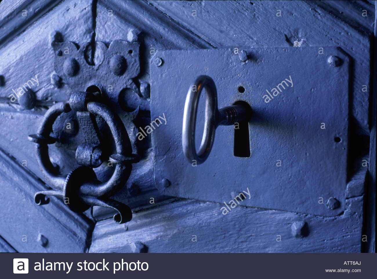 Key In A Door Stock Photos & Key In A Door Stock Images - Alamy