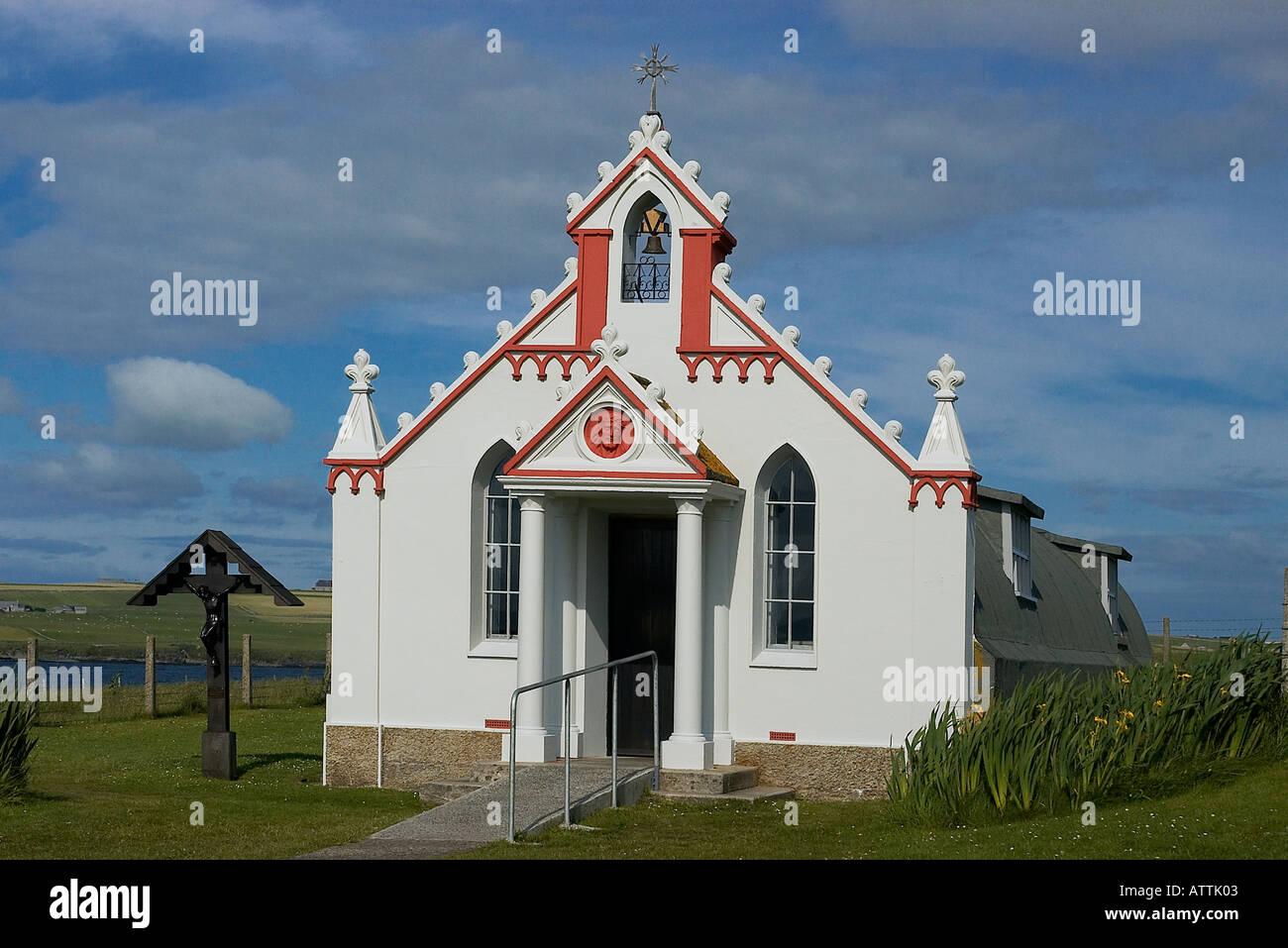 The Italian Chapel, Orkneys - Stock Image