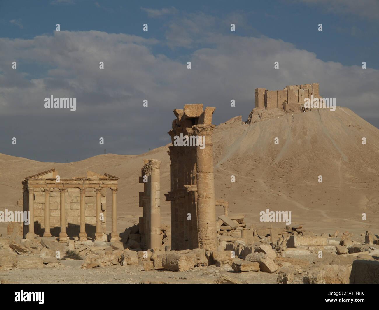Qalaat Maan - Stock Image
