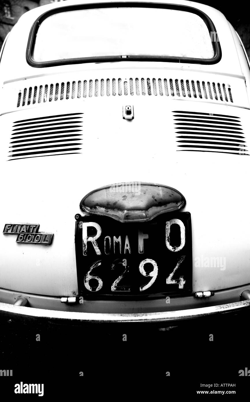 Fiat car - Stock Image