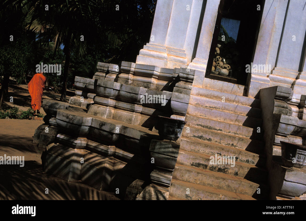 Siem Reap victims of the Pol Pot regime - Stock Image