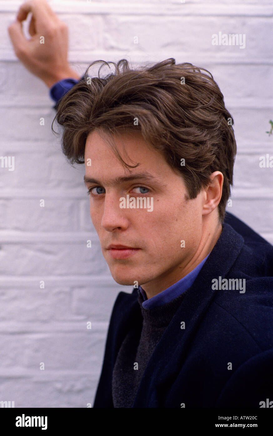 actor hugh grant in england in great britain in the united kingdom
