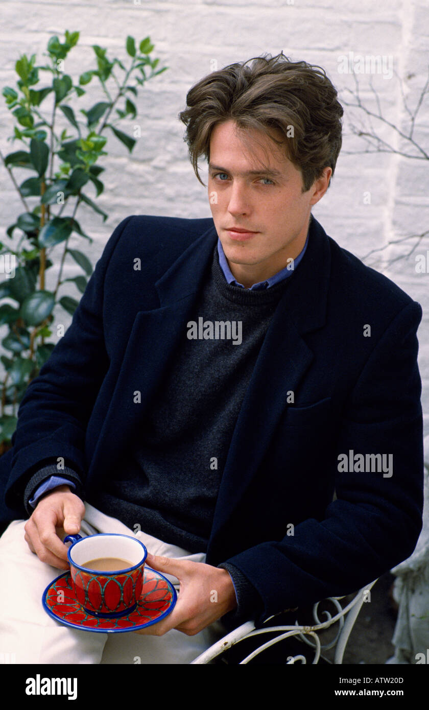 Actor Hugh Grant in England in Great Britain in the United Kingdom - Stock Image