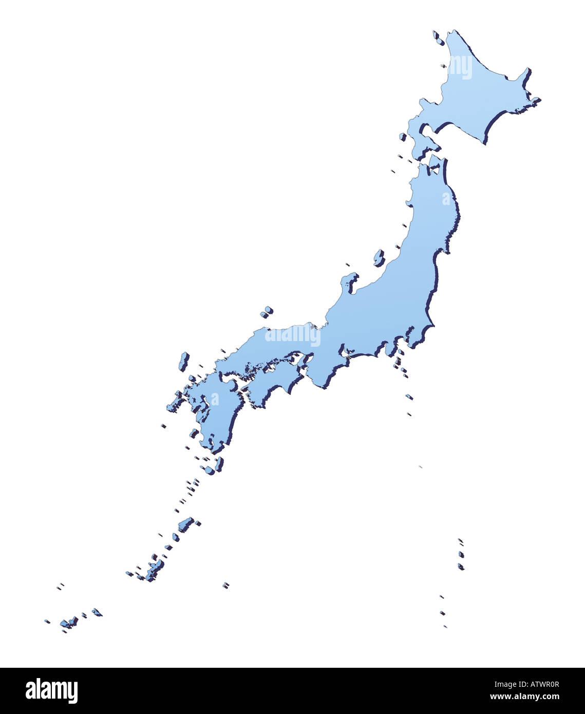 Japan Karte.Japan Map Stock Photos Japan Map Stock Images Alamy