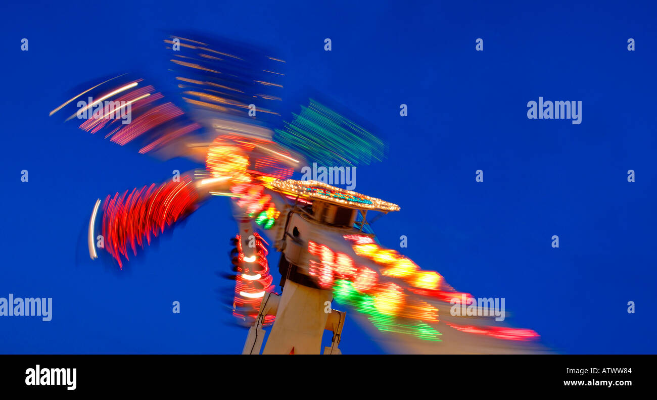 Amusement Parks Stock Photo