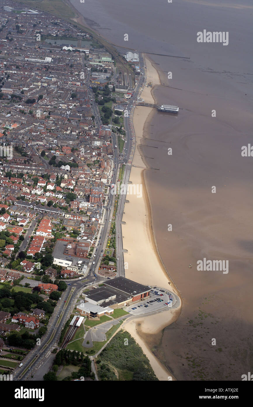 Cleethorpes sea front - Stock Image