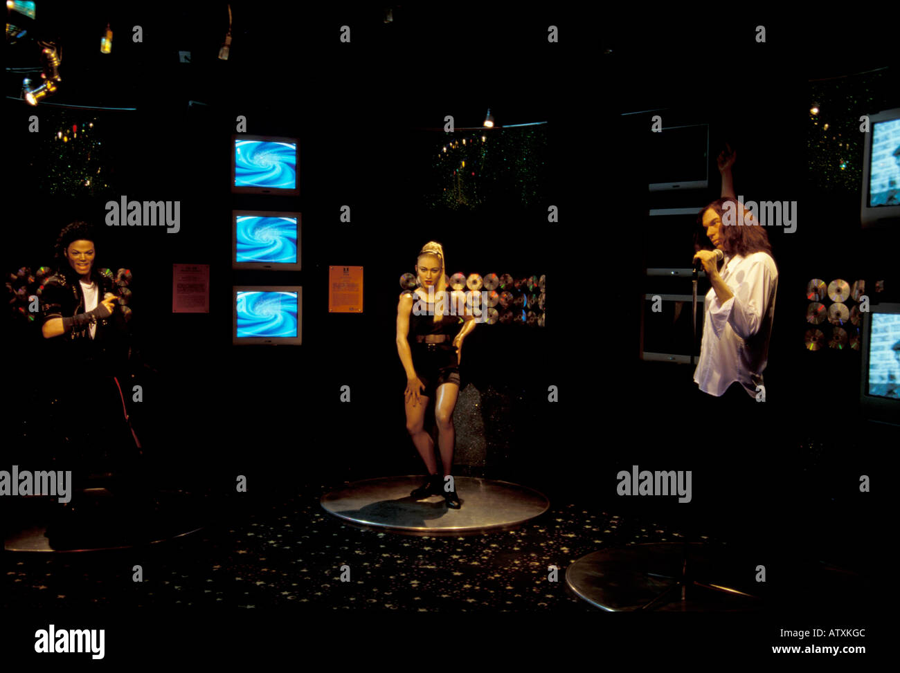 Madame Tussaud s Wax Museum Victoria Peak Hong Kong China Asia - Stock Image