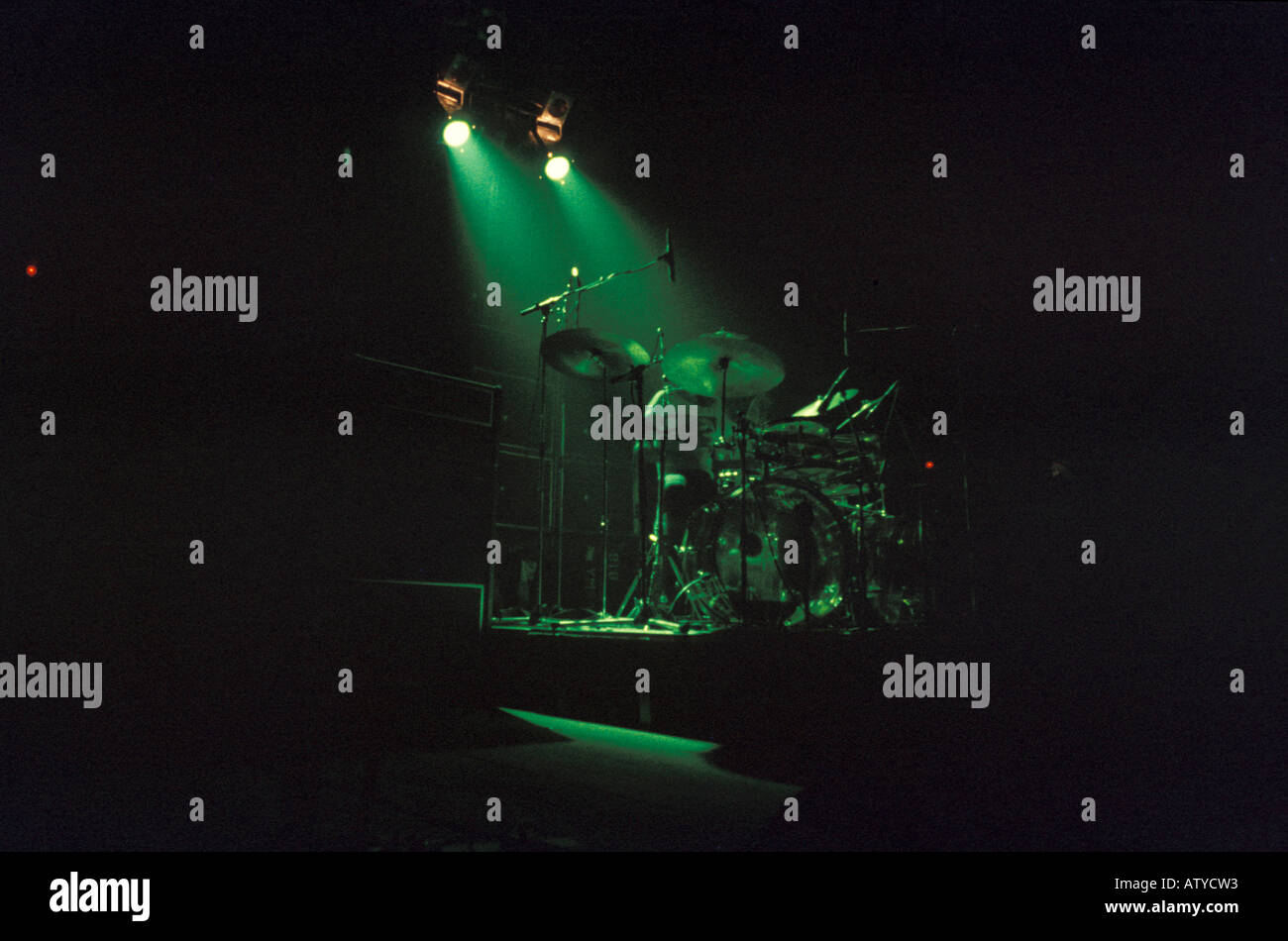 Rock band set Italy - Stock Image