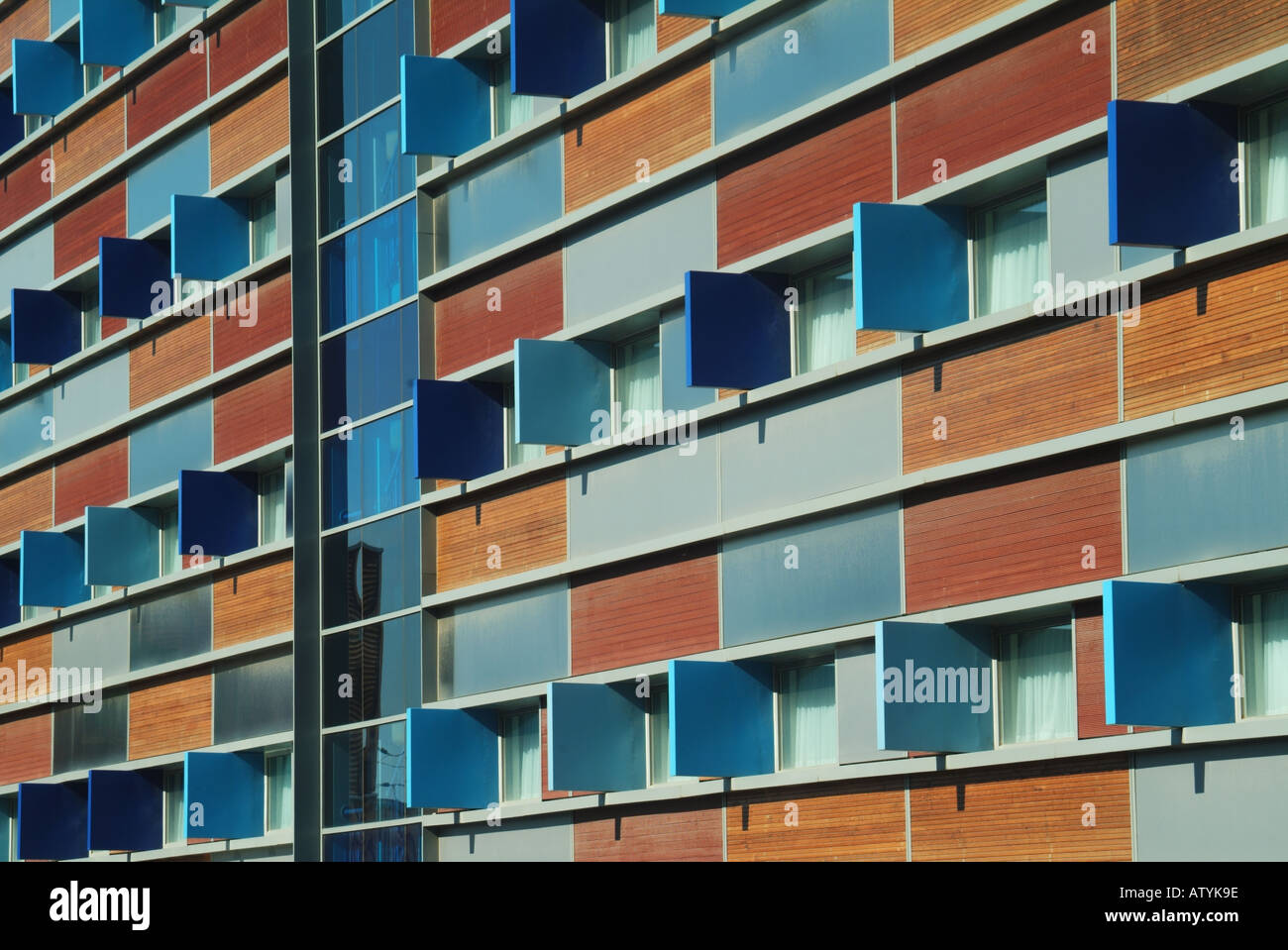 Front Elevation Of Hotel Building : Cambridge travelodge stock photos