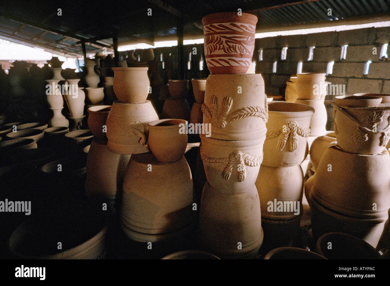 unglazed pottery stock photos unglazed pottery stock images alamy