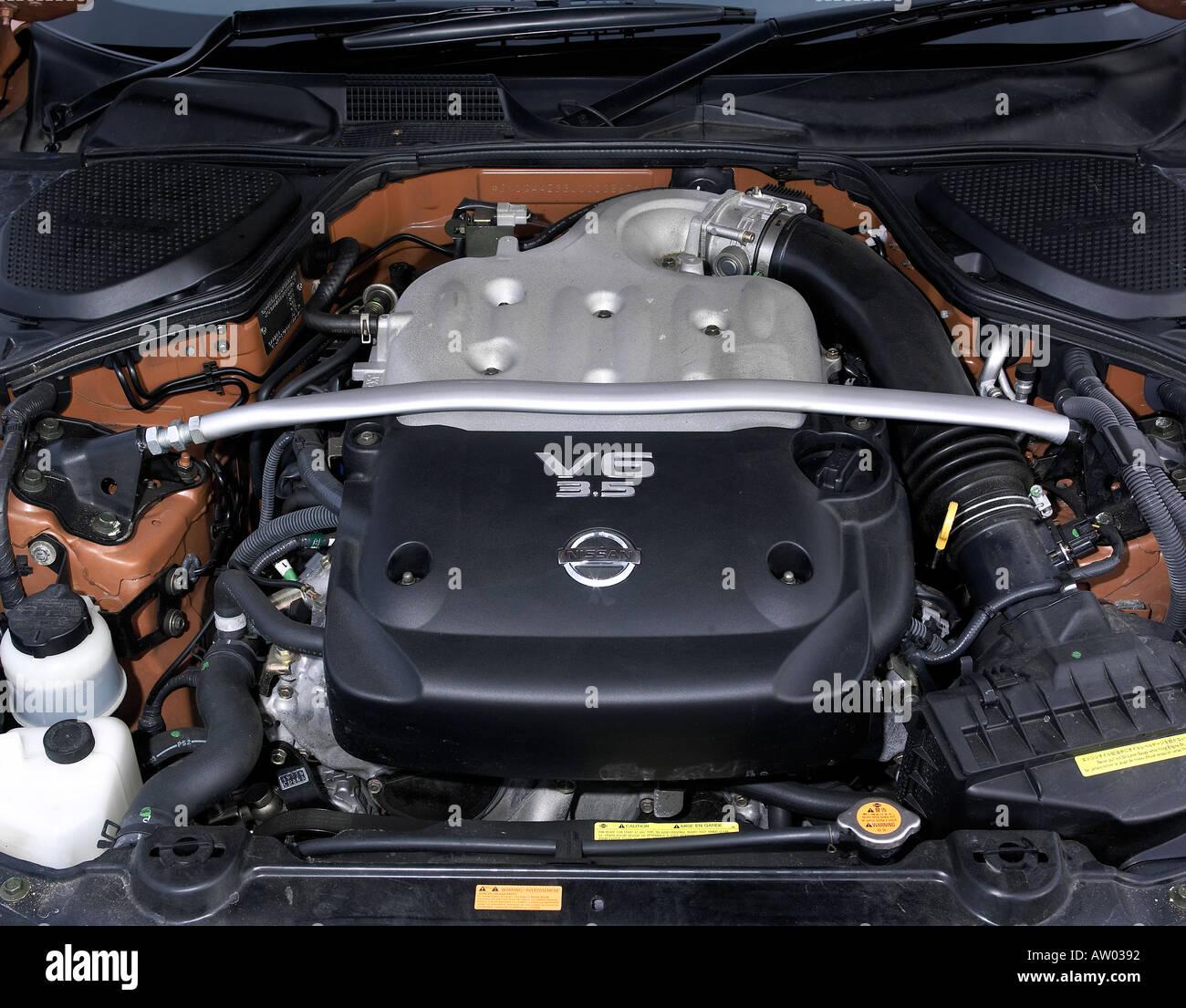 2004 Nissan 350z Stock Photo Alamy