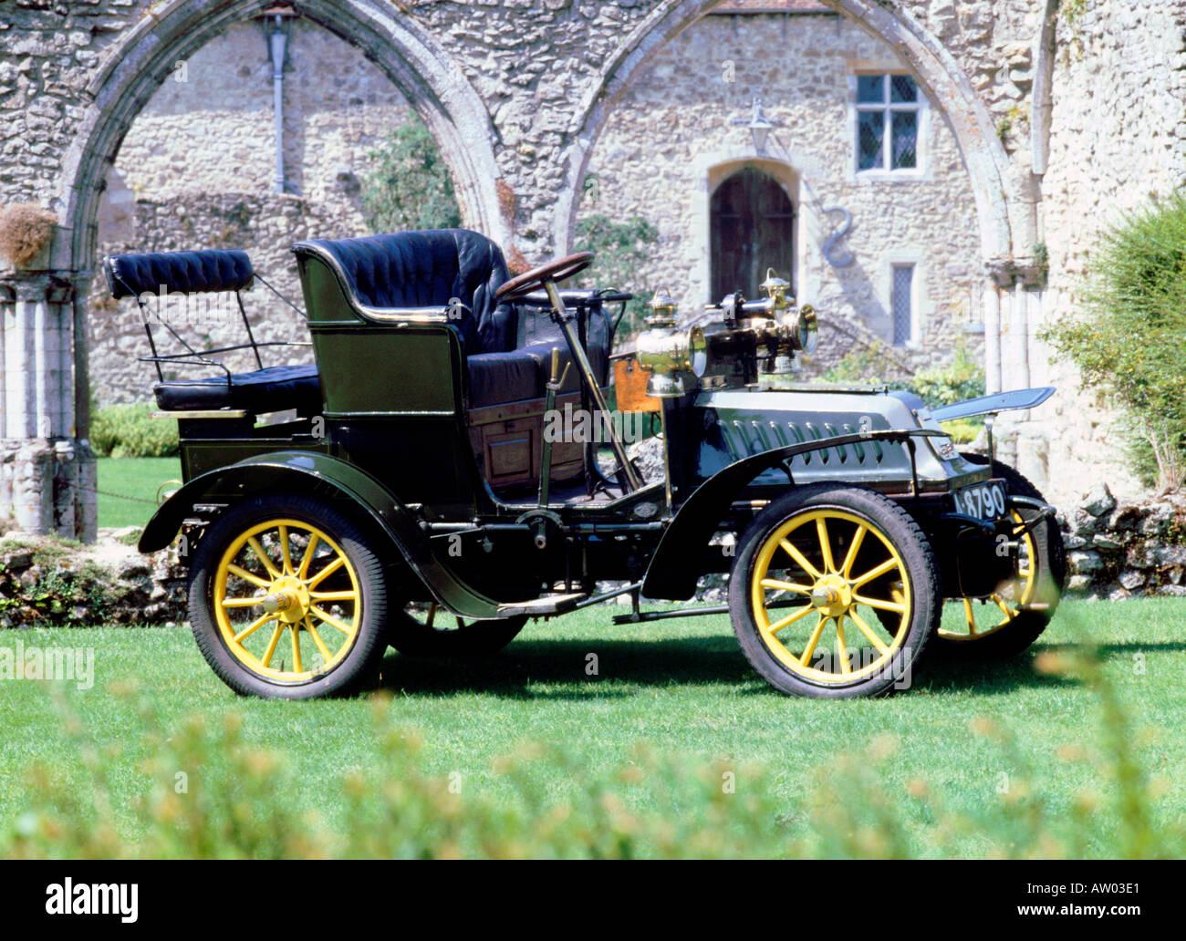 1904 De Dion Bouton Q Type - Stock Image