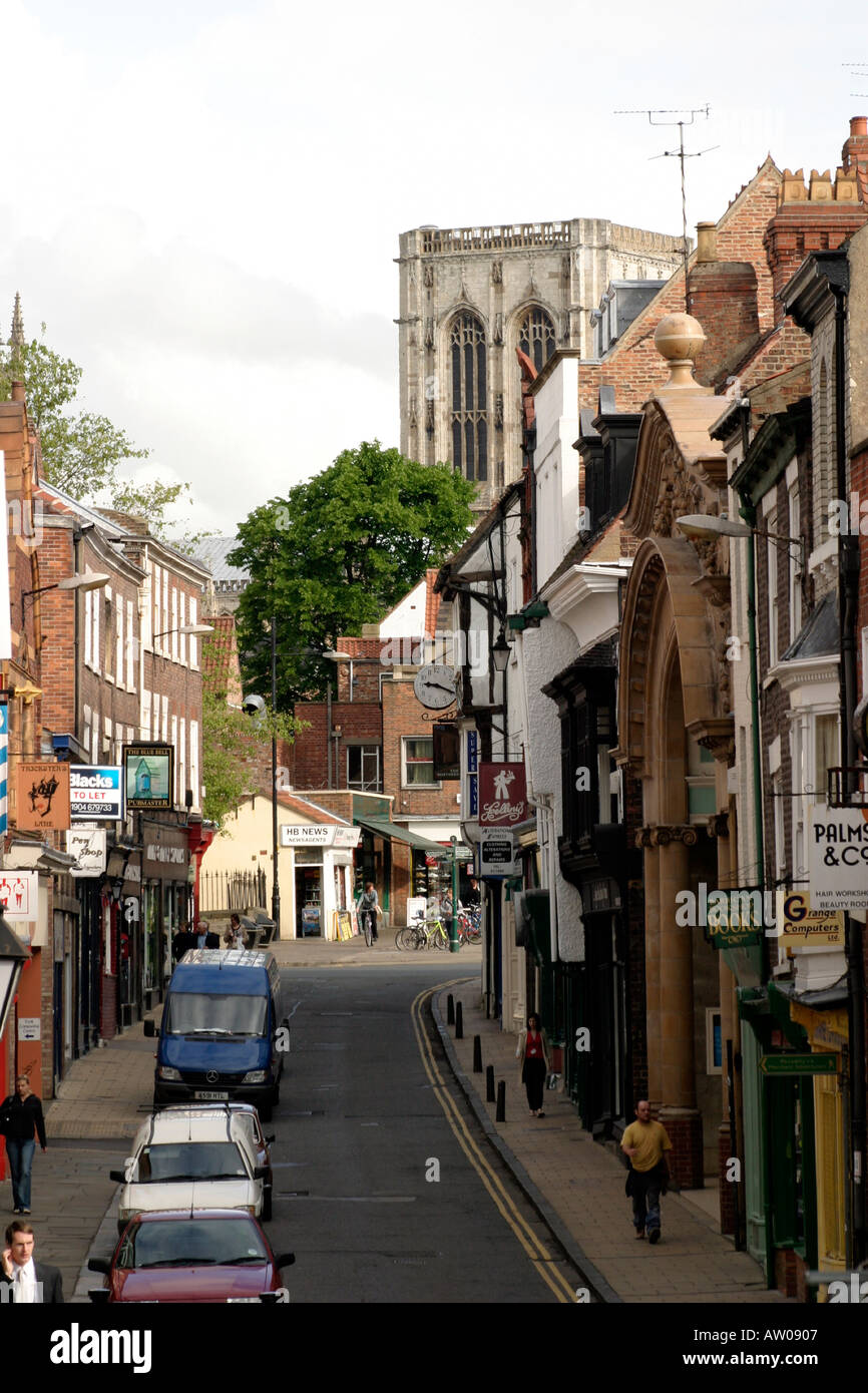 Fossgate York - Stock Image