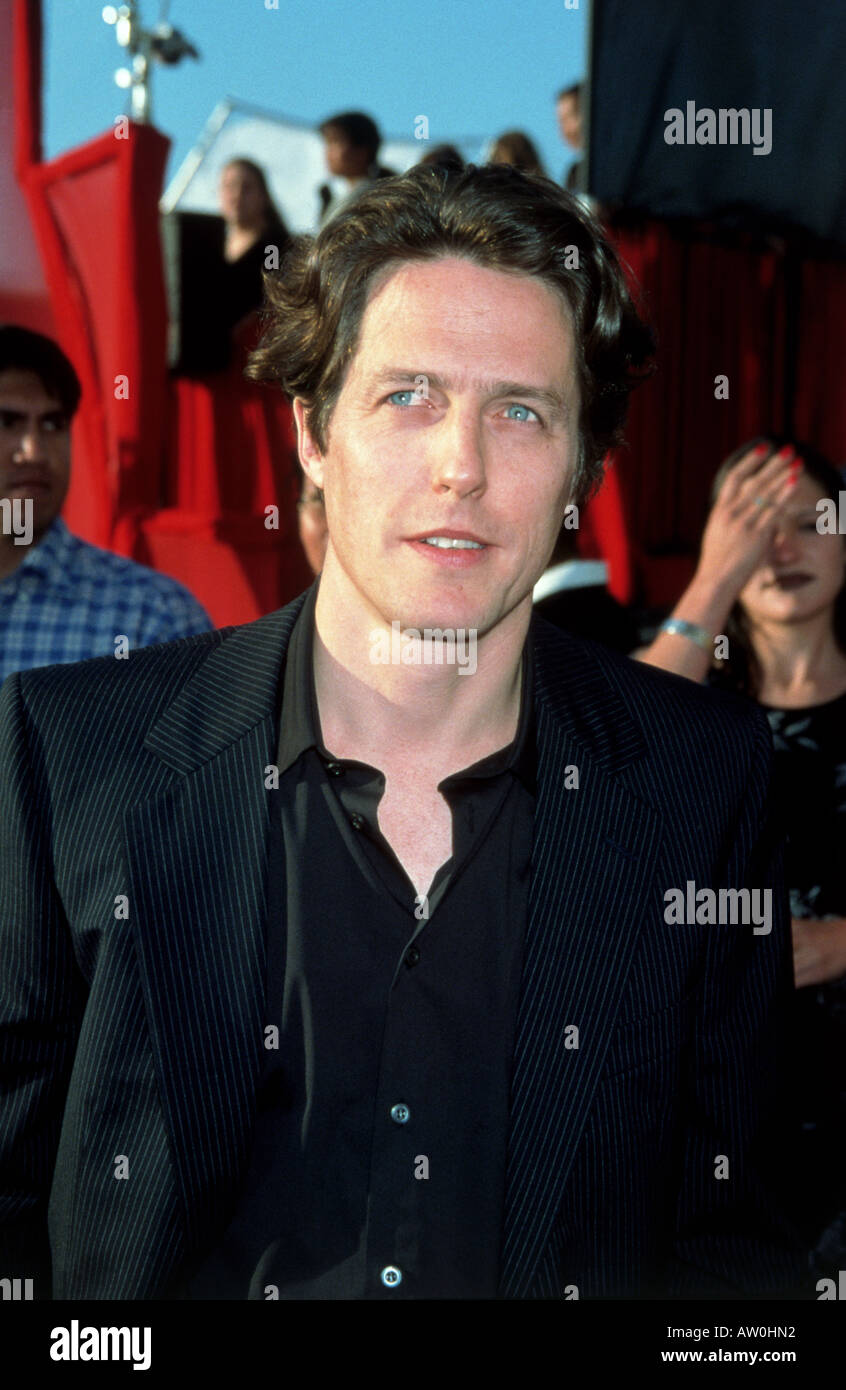 HUGH GRANT  English actor in  1999 - Stock Image