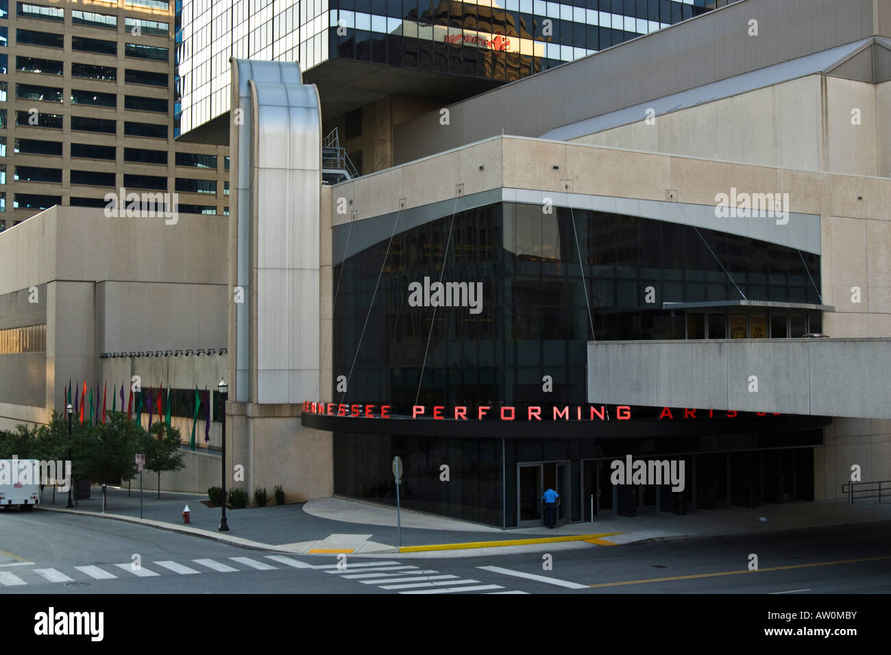 Performing Art Center in Nashville, Tennessee - Stock Image