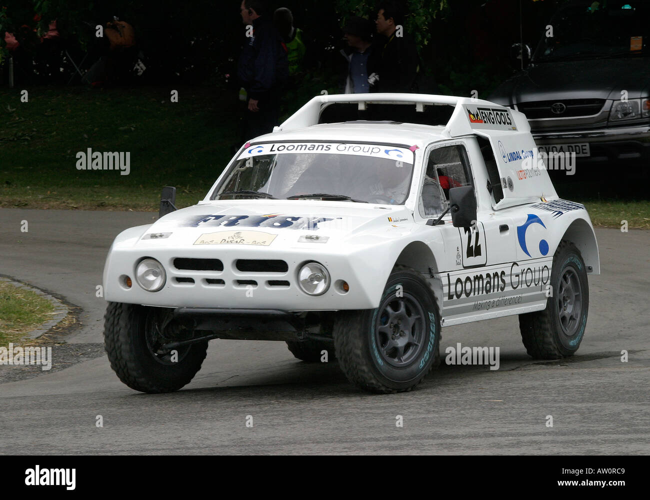 1986 MG Metro 6R4 at Goodwood Festival of Speed - Stock Image