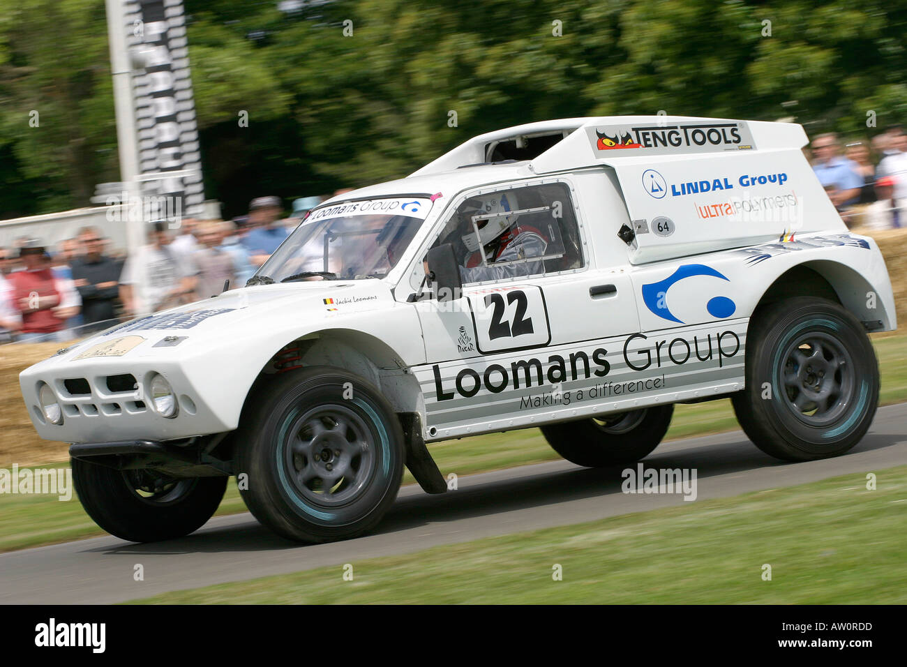 1986 MG Metro 6R4 at Goodwood Festival of Speed, Sussex, UK. - Stock Image