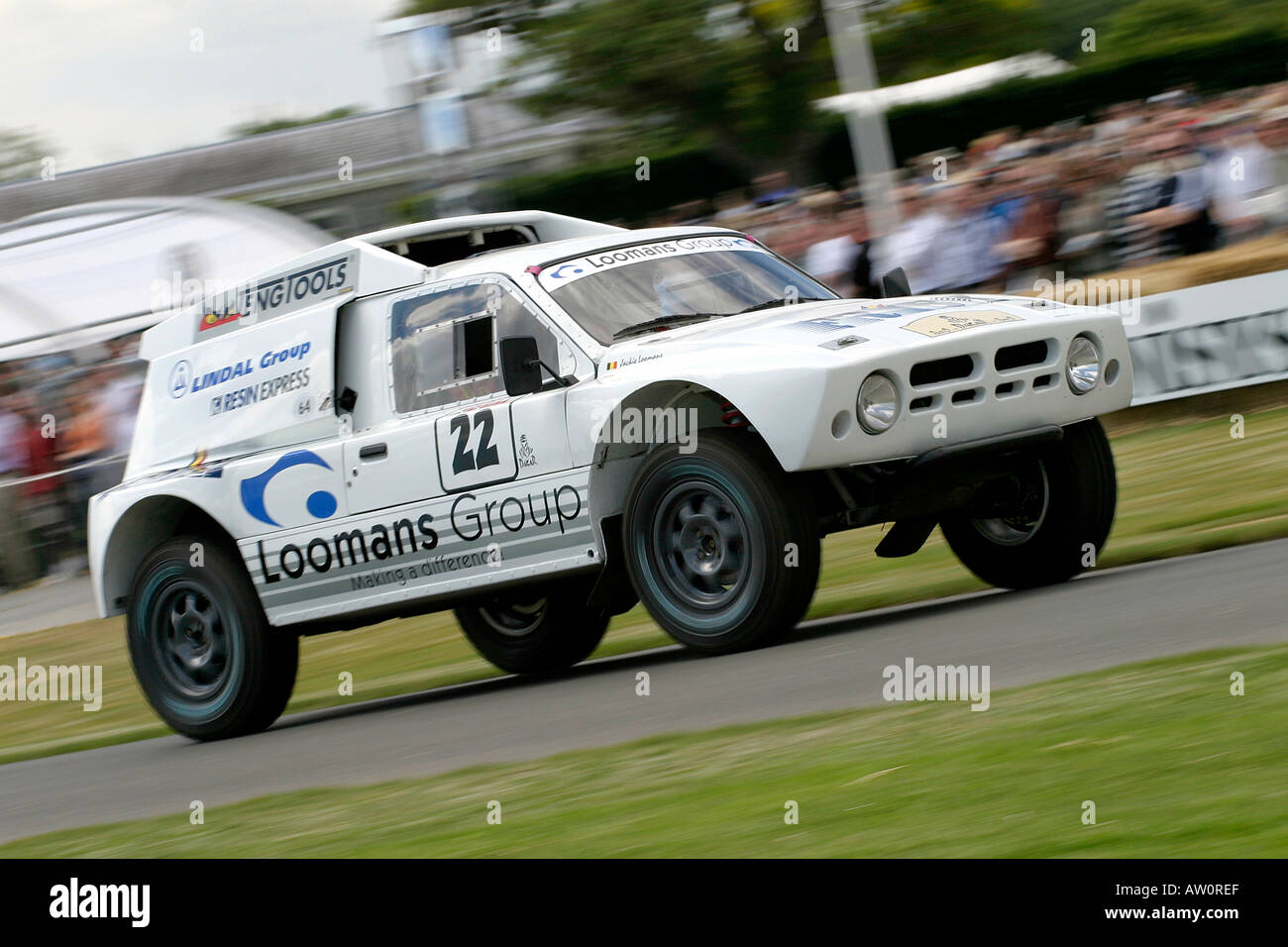 1986 MG Metro 6R4 at Goodwood Festival of Speed, Sussex, UK - Stock Image
