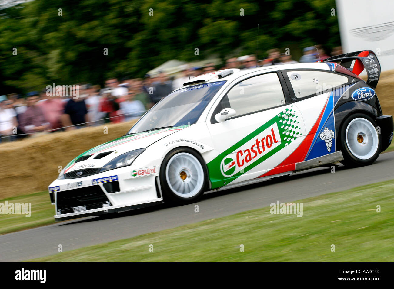 2003 Ford Focus Wrc At Goodwood Festival Of Speed Sussex Uk Stock