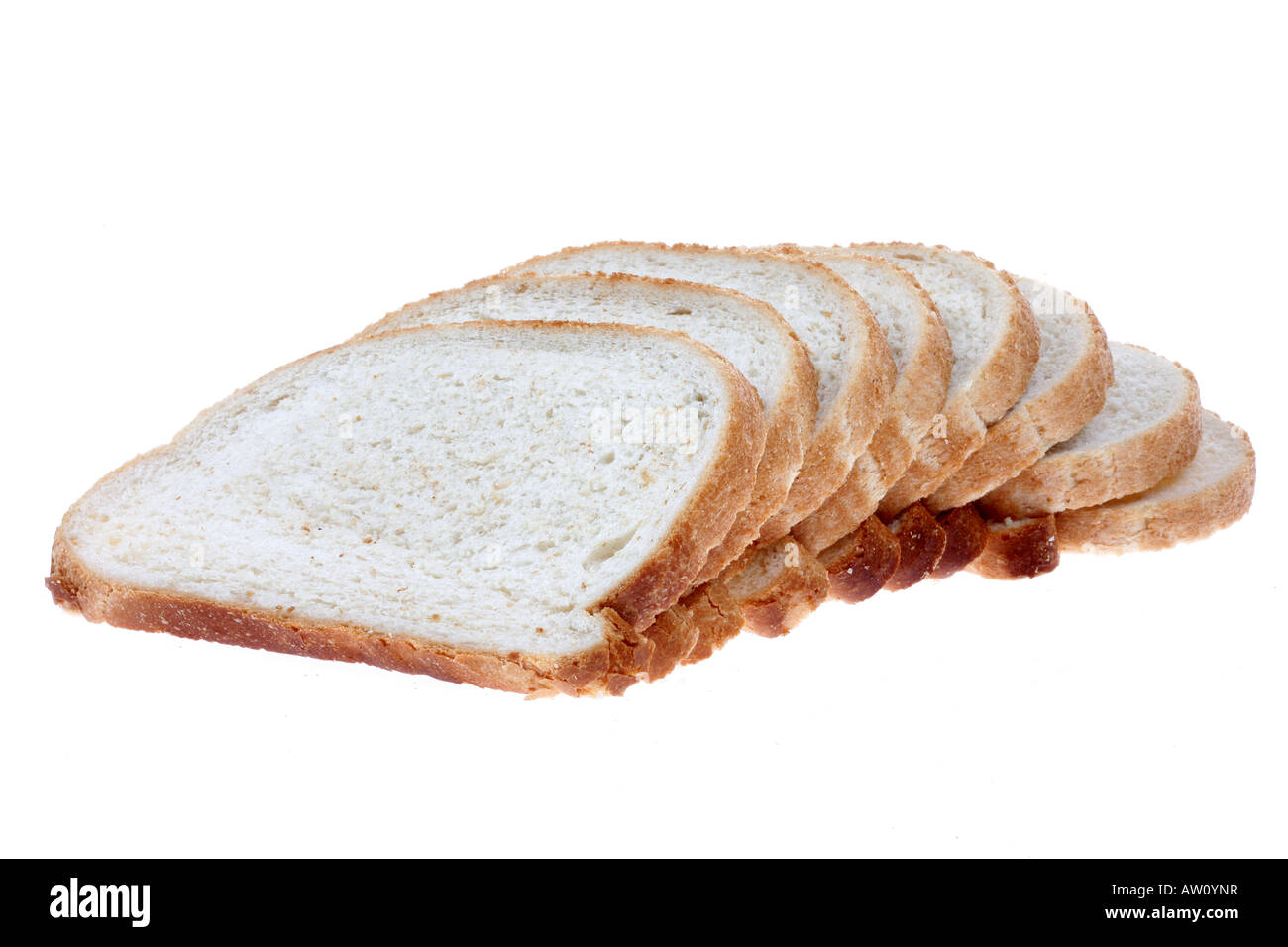 Bloomer Bread - Stock Image
