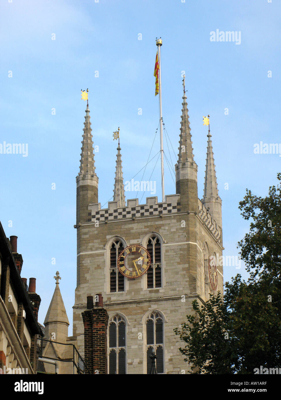 Cathedral and Collegiate Church of Saint Saviour and St Mary Overie Southwark - 1 - Stock Image
