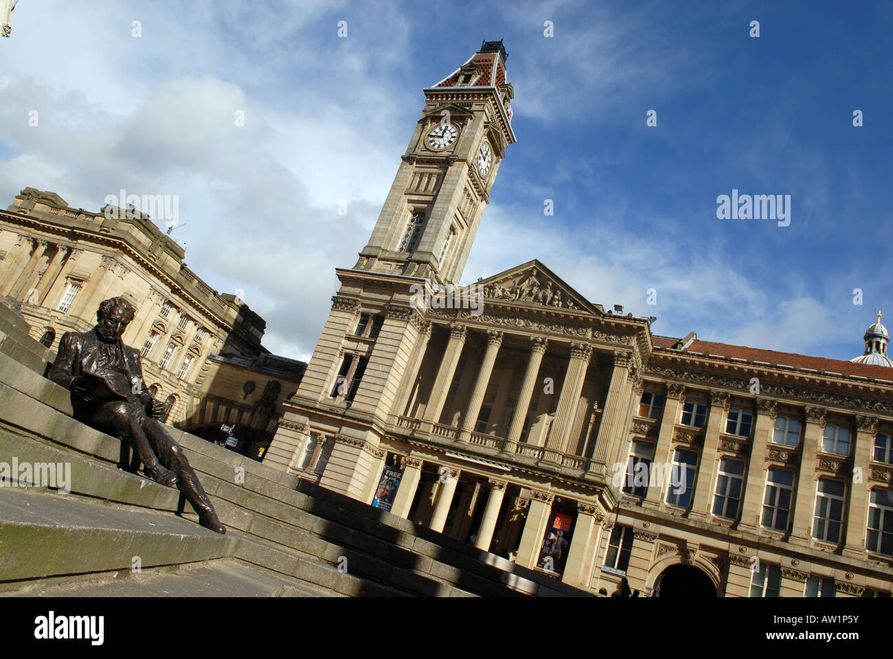 Chamberlain Square in Birmingham, West Midlands, England. - Stock Image