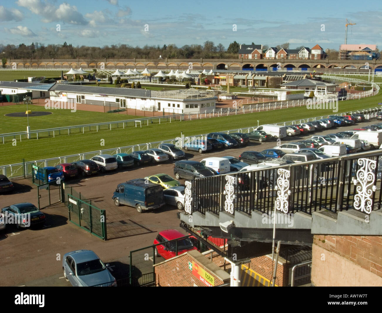 The Roodee, Chester Racecourse - Stock Image