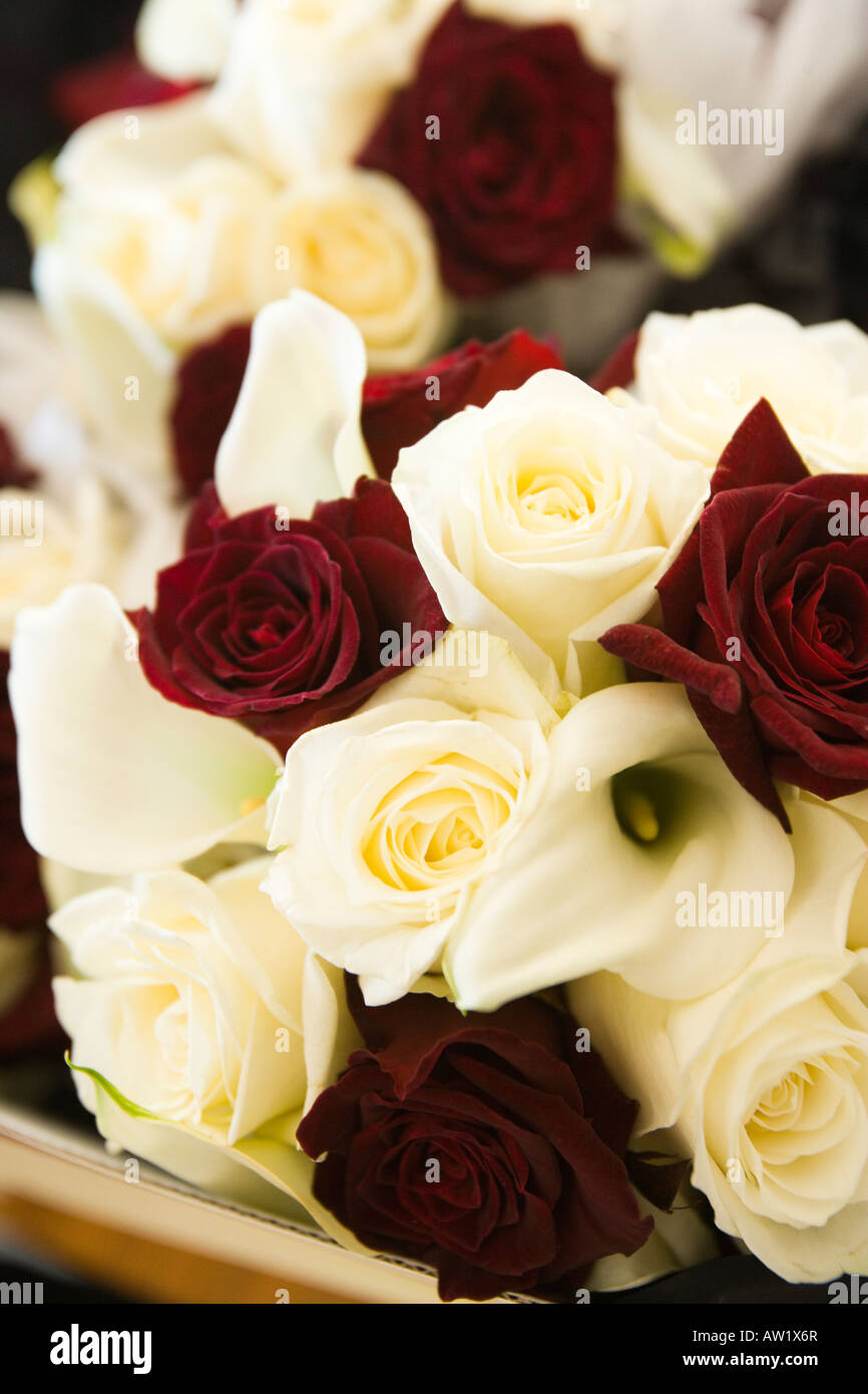 Red Roses Bridal Bouquets Wedding Stock Photos Red Roses Bridal
