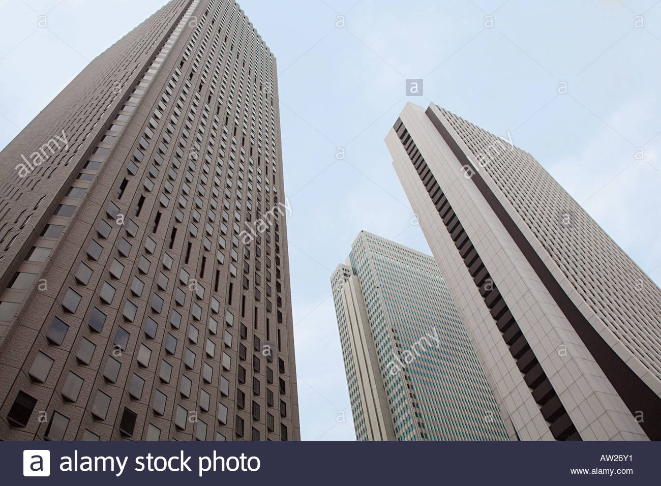 Shinjuku skyscrapers - Stock Image