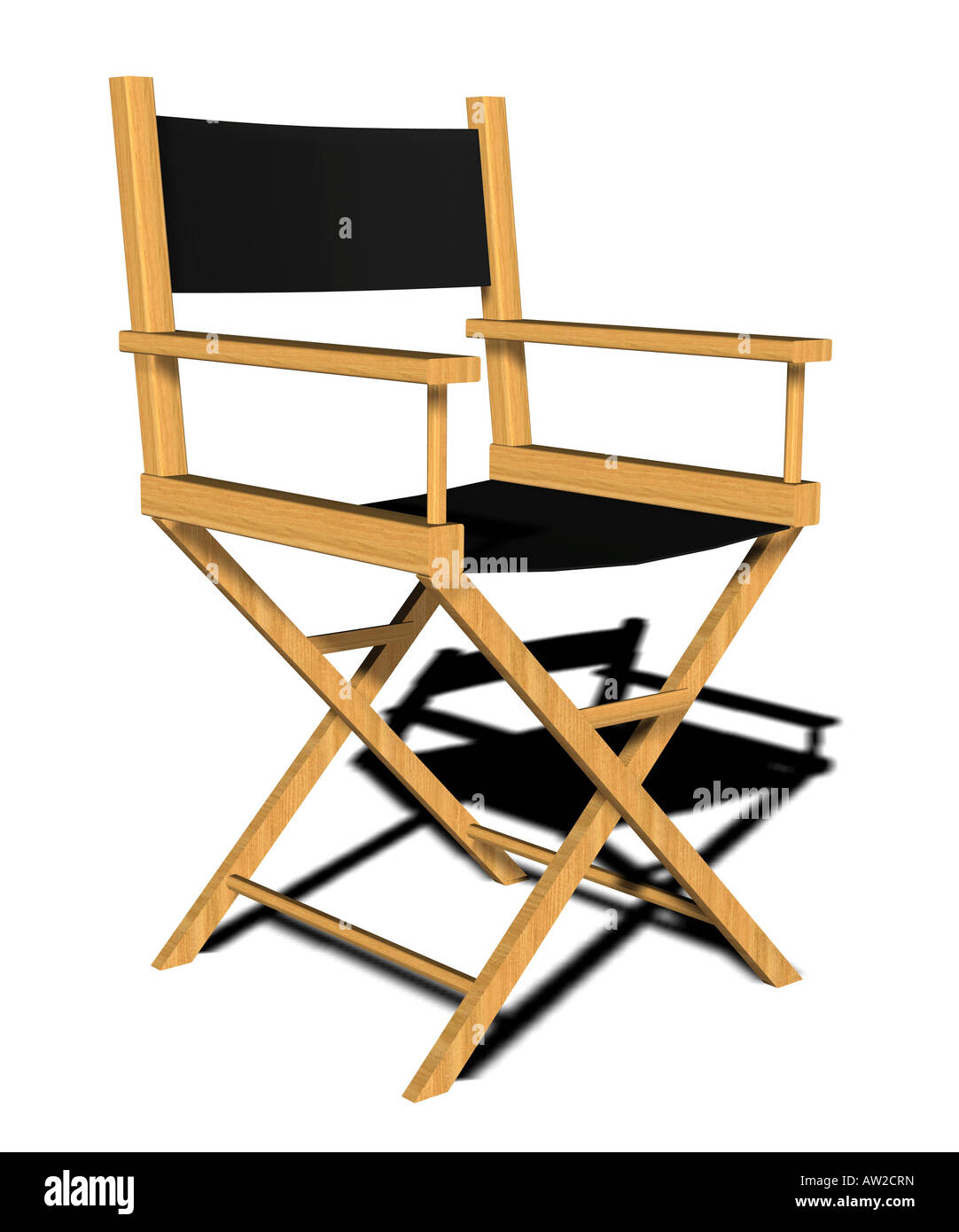 directors chair - Stock Image