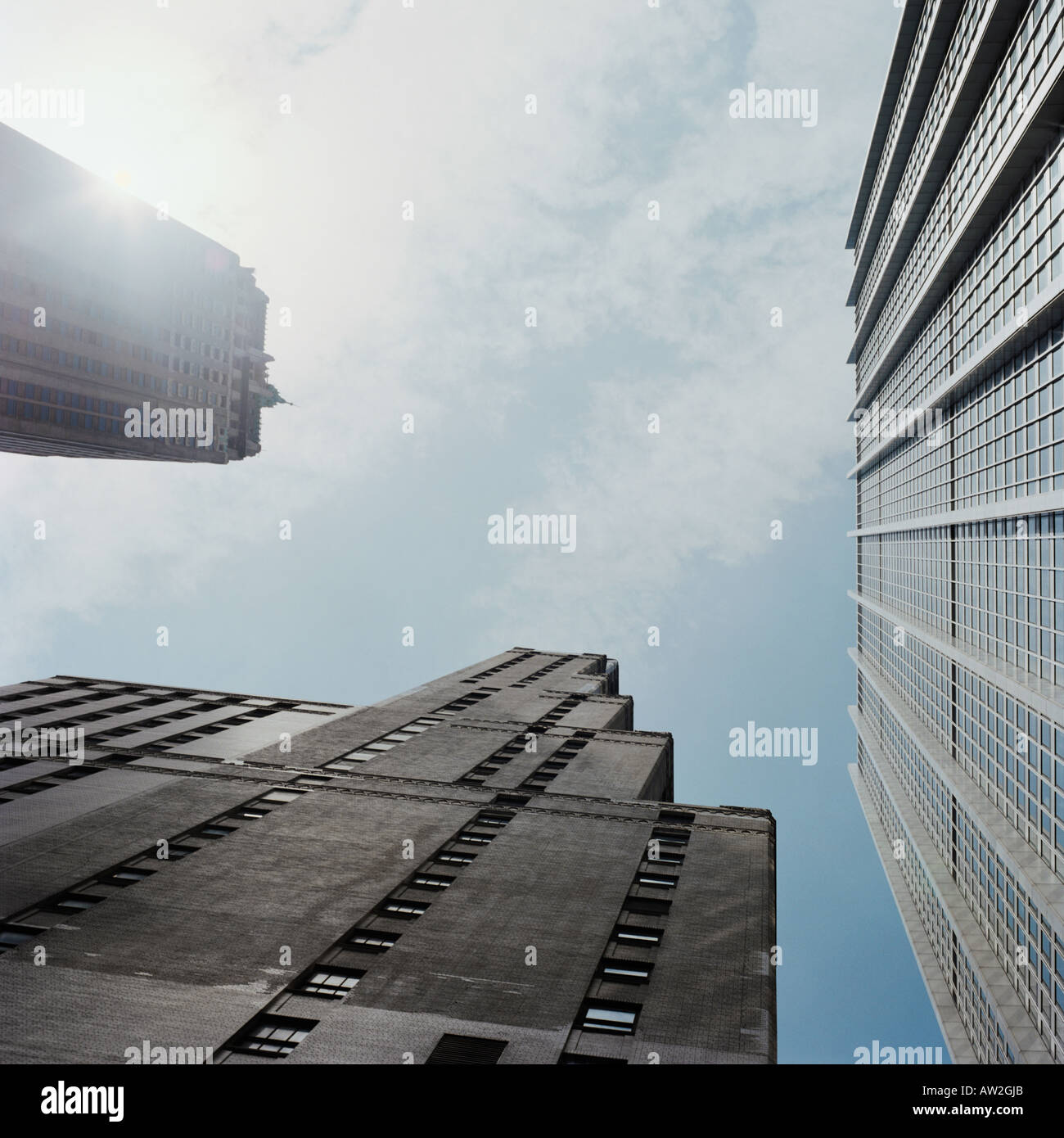 Multistorey structures - Stock Image