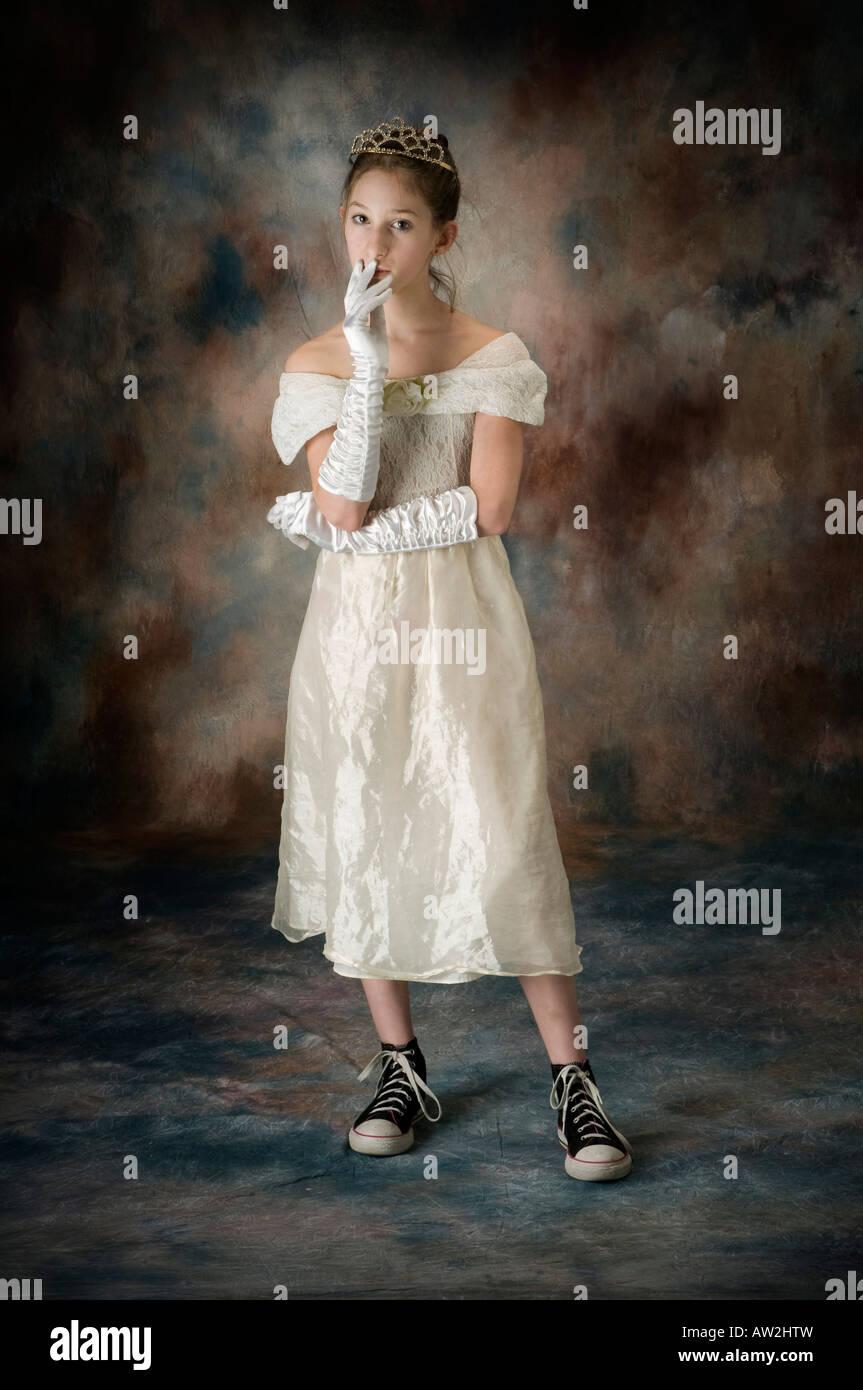 Consider, that Teen model white dress try